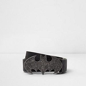 Ceinture noire à boucle Batman pour garçon
