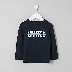 Mini boys 'limited edition' sweatshirt
