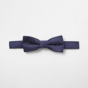 Mini boys jacquard bow tie