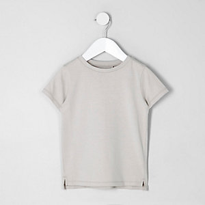 Mini boys stone crew neck T-shirt