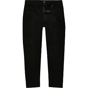 Boys black Jimmy slim fit tapered jeans