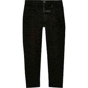 Jimmy - Zwarte smaltoelopende slim-fit jeans