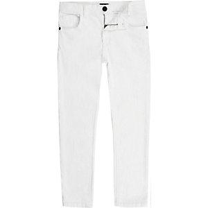 Boys white Sid skinny jeans