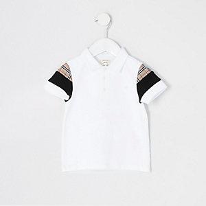 Mini - Lichtgroen overhemd met print voor jongens