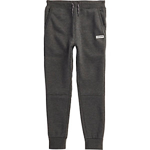 Boys dark grey Converse joggers