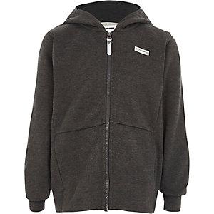 Converse - Grijze hoodie met rits voor jongens