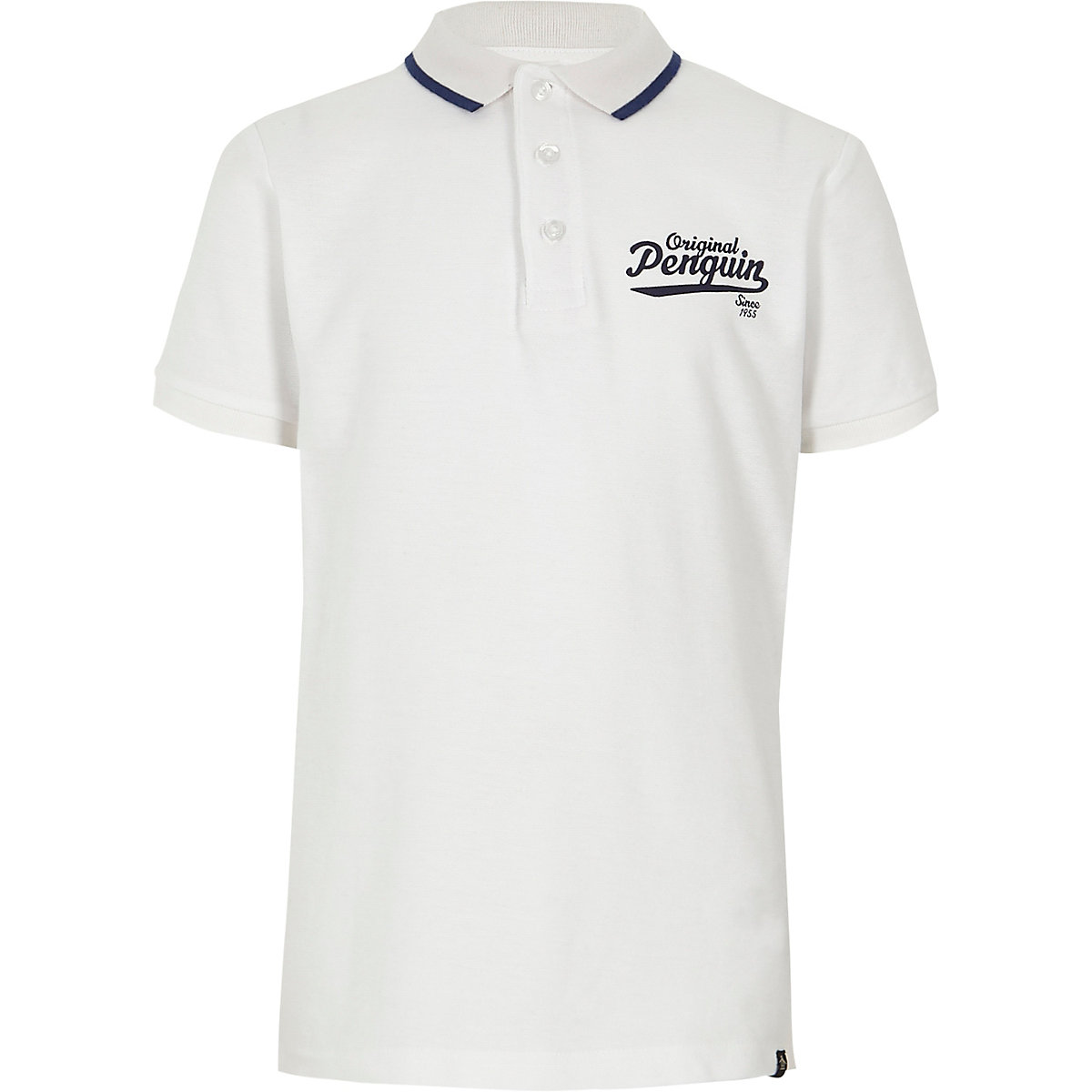 Boys White Original Penguin Polo Shirt Polo Shirts Sale Boys