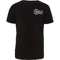 Boys black Original Penguin print T-shirt