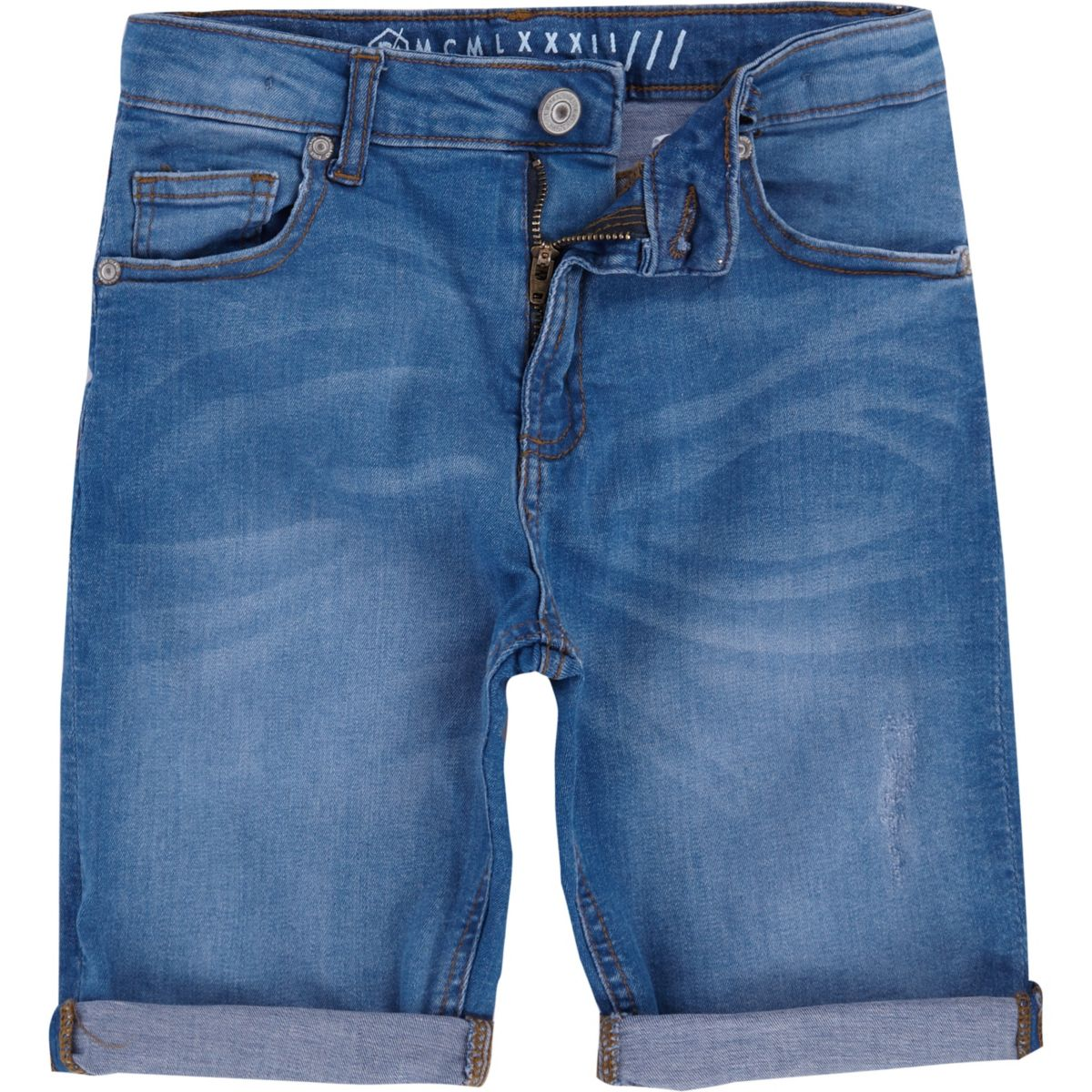 Boys mid blue Dylan denim shorts - Denim Shorts - Shorts - boys