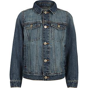 Veste en jean bleue pour garçon