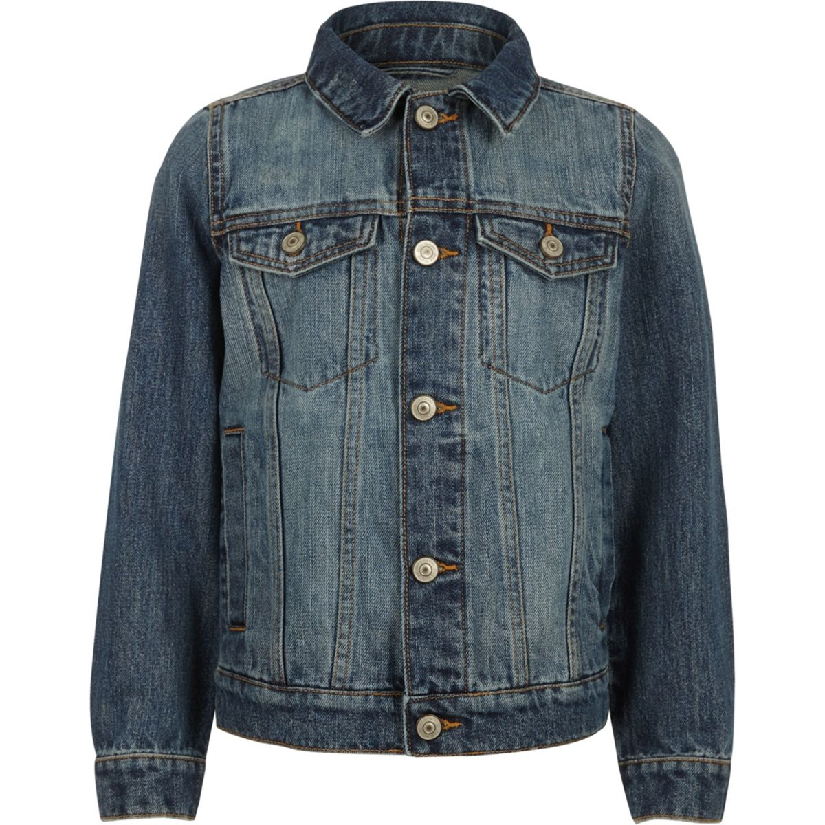 Boys blue denim jacket