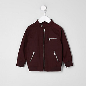 Racer-Jacke in Bordeaux
