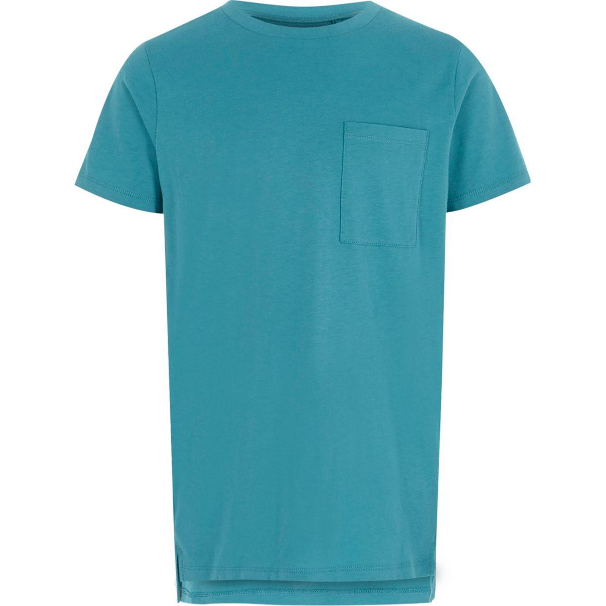 Boys turquoise pocket t shirt t shirts t shirts for Boys pocket t shirt