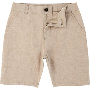 Dylan – Beige Slim Fit Chino-Shorts
