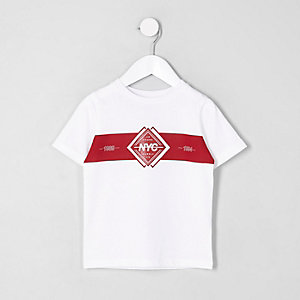 "Weißes T-Shirt ""NYC"""