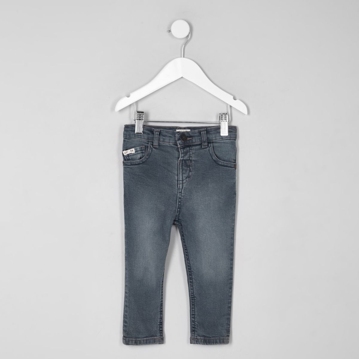 Mini boys mid blue Sid skinny jeans