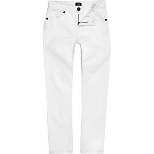 Boys white Dylan slim jeans