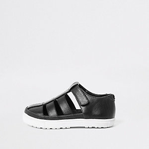 Mini - Zwarte schoenen voor jongens