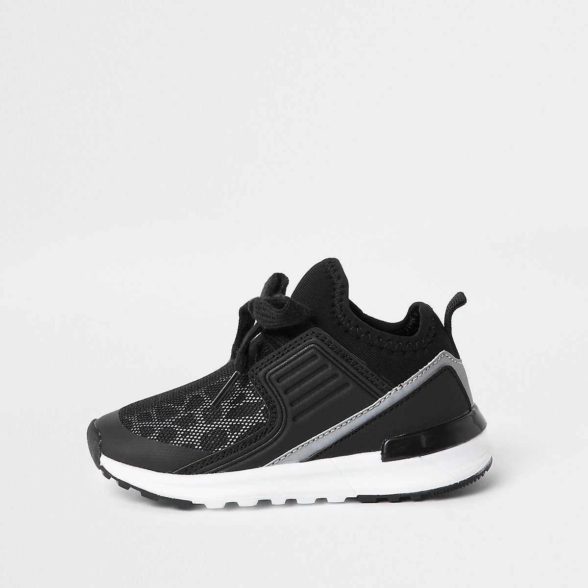 Mini boys animal print mesh runner sneakers