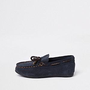 Marineblaue Schuhe