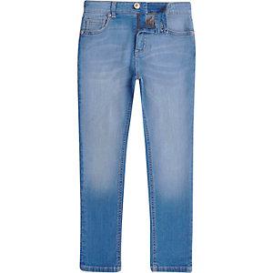 Sid – Jean skinny bleu effet dégradé pour garçon