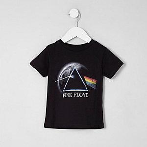 """Schwarzes T-Shirt mit """"Pink Floyd""""-Druck"""