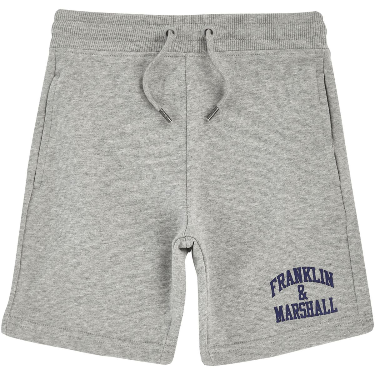 Boys grey Franklin & Marshall sweat shorts