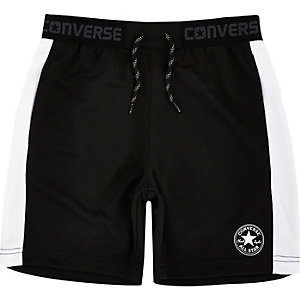 Boys Converse black shorts