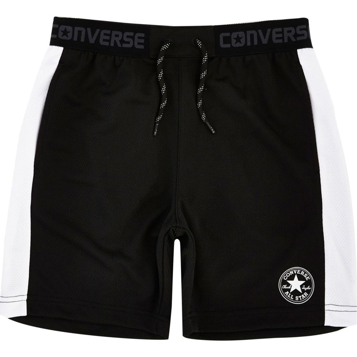 Boys Converse black shorts