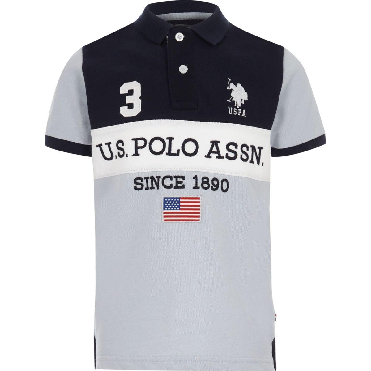 boys navy u s polo assn polo shirt polo shirts boys. Black Bedroom Furniture Sets. Home Design Ideas