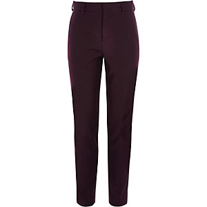 Boys purple suit pants