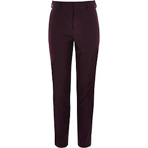 Paarse pantalon voor jongens