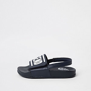 Mini boys blue 'true legend' sliders