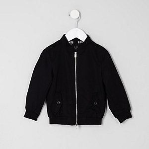 Mini boys black harrington jacket