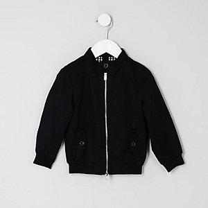 Mini - Zwart harrington jack voor jongens