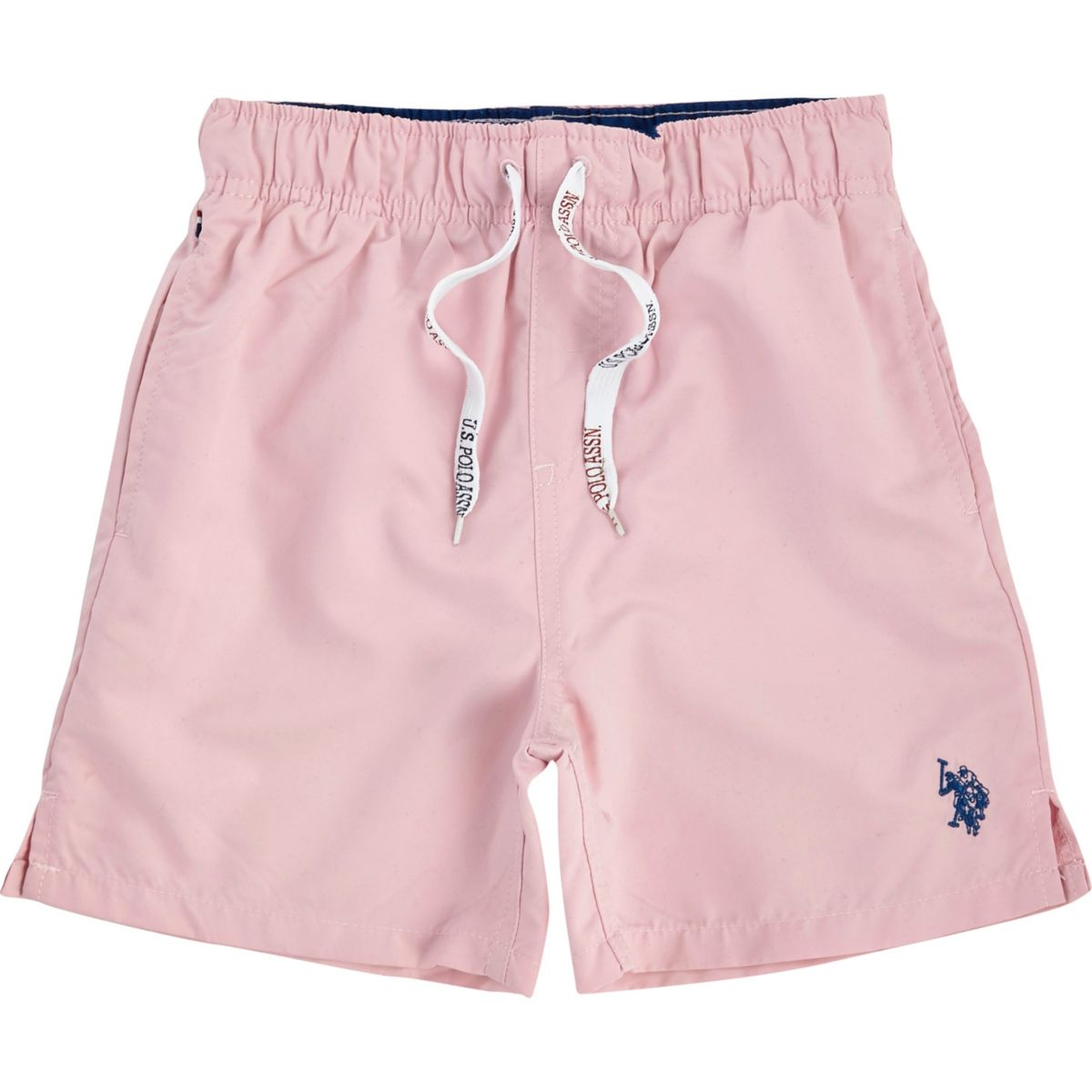 Boys pink U.S. Polo Assn. swim shorts