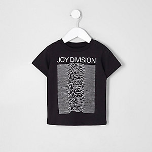 Mini - Zwart 'Joy Division' T-shirt