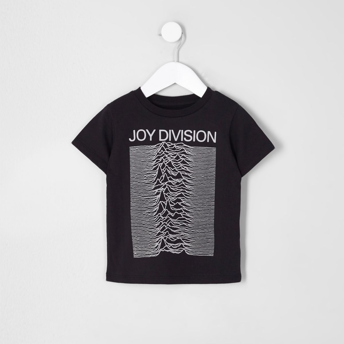 Mini boys black 'Joy Division' T-shirt