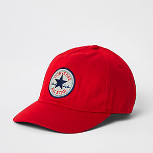 Kids red Converse cap