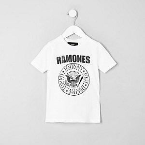 Mini - T-shirt met 'Ramones'-print voor jongens