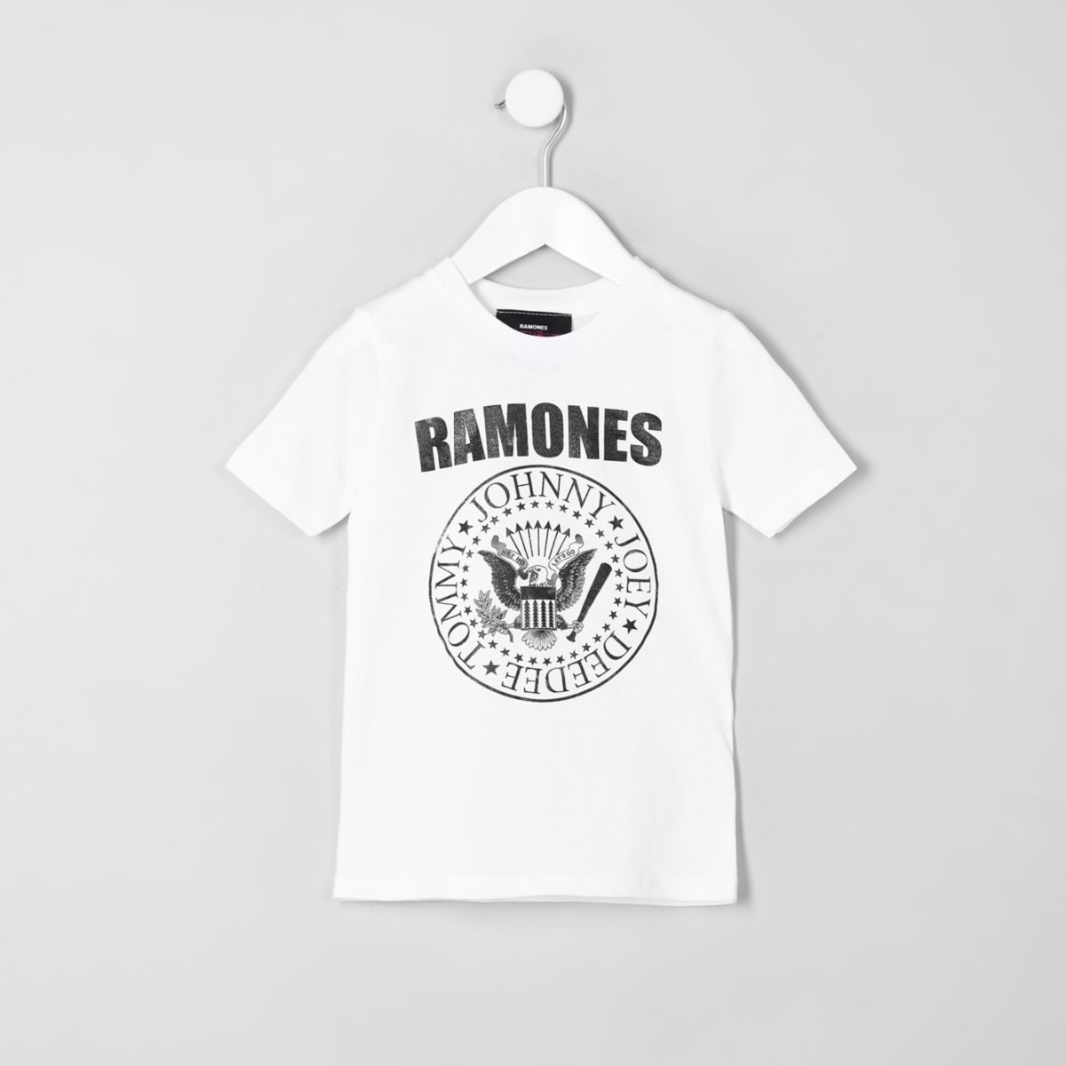 Mini boys 'Ramones' print T-shirt