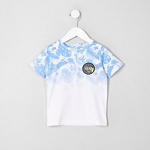 Mini boys tropical fade T-shirt