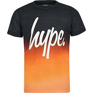 Hype – T-shirt orange effet dégradé garçon
