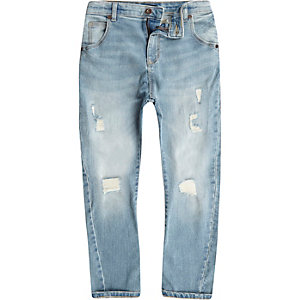 Tony – Hellblaue Jeans im Used-Look