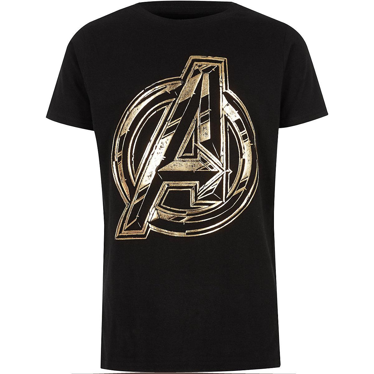 """Schwarzes T-Shirt """"Avengers"""""""