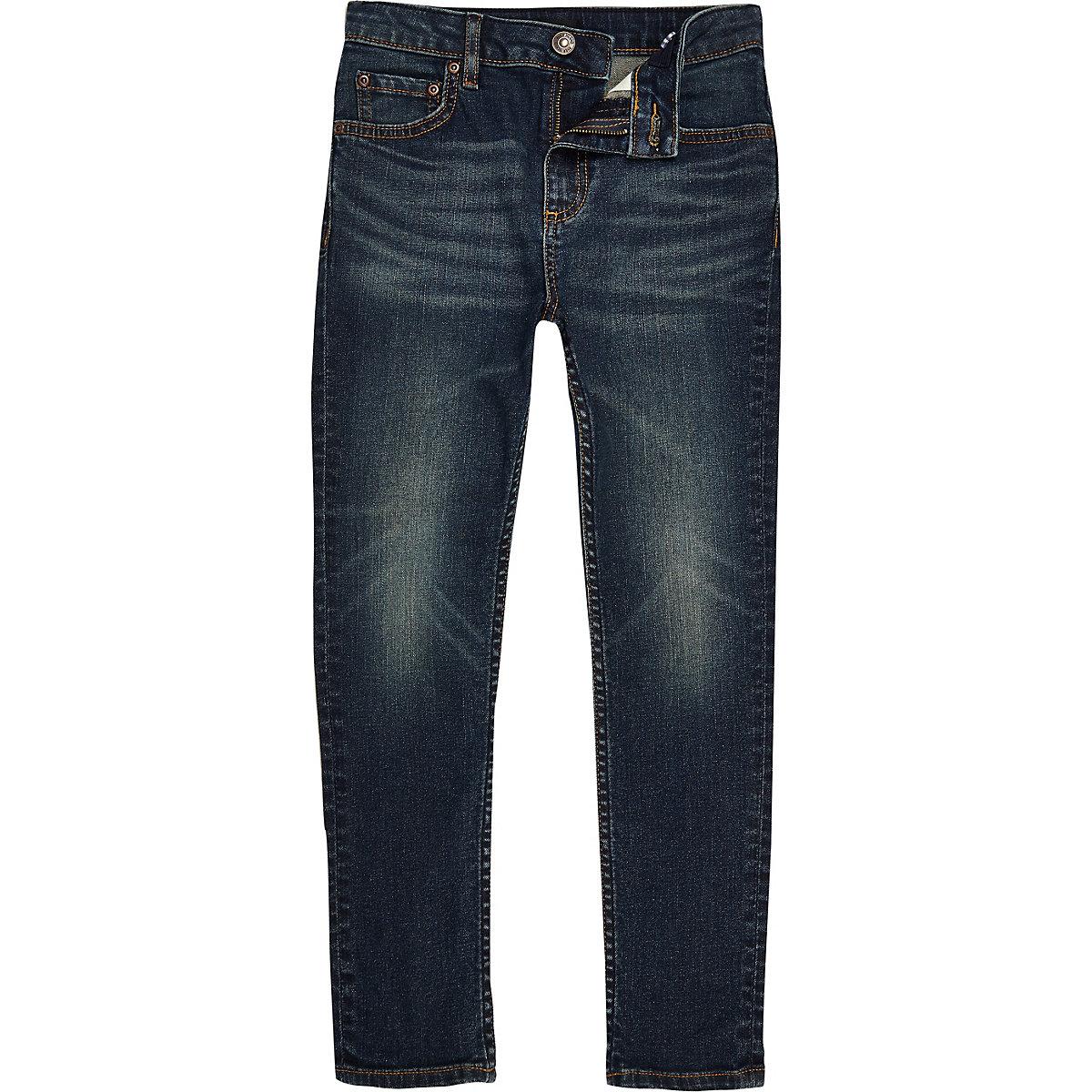 Dunkel gewaschene Sid-Skinny-Jeans