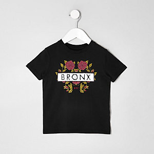 Mini boys sequin 'bronx' T-shirt