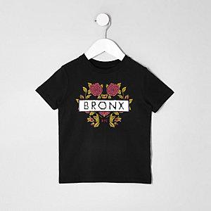 Mini boys sequin 'bronx' T-shirt