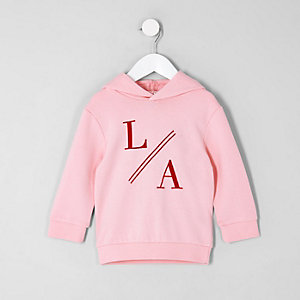 """Pinker Hoodie """"LA"""""""