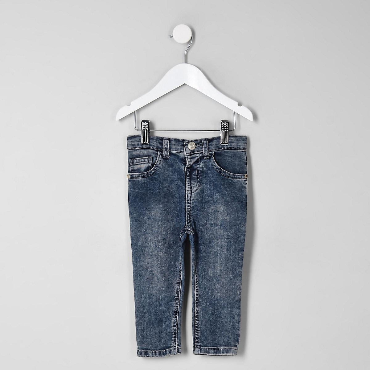 Mini boys acid wash denim Sid jeans